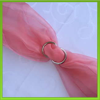 Pink Chair Sash (tie back)
