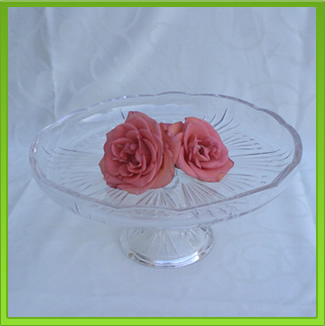 Glass Cake Stand for Hire