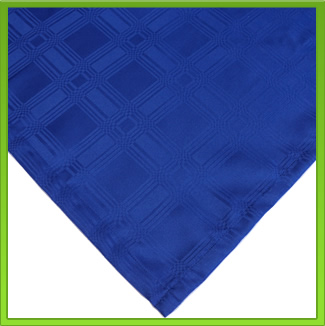 Royal Blue Rectangle Tablecloth